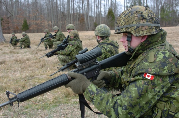 В Украинское государство прибудут 200 канадских военных