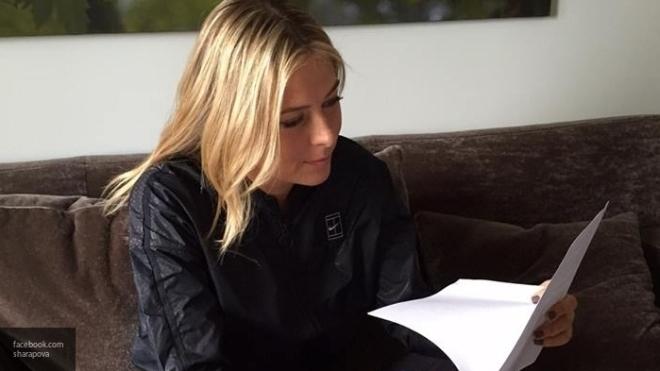 WTA официально позволила Шараповой выступать натурнирах с26апреля