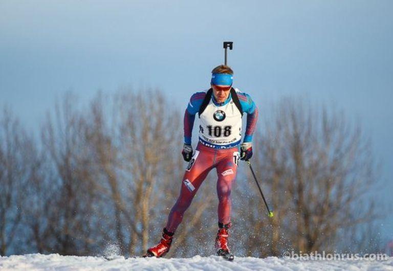 Югорчане выиграли мужскую эстафетную гонку чемпионата Российской Федерации побиатлону вТюмени