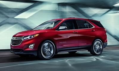 Начались продажи нового кроссовера Chevrolet Equinox
