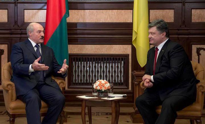 Лукашенко иПорошенко посетят Чернобыль ипроведут переговоры