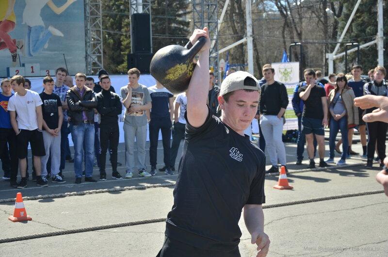 Самый сильный школьник, Саратов, Театральная площадь, 27 апреля 2017 года