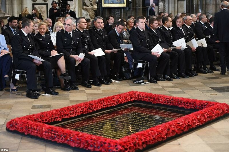 London terror attack survivors attend service hope