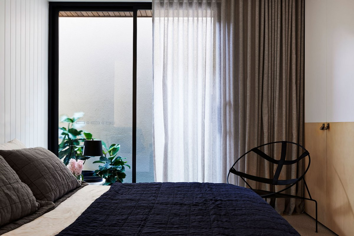 оформление спальни в австралийском доме