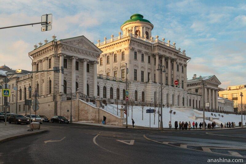 Дом Пашкова со стороны Боровицкой площади