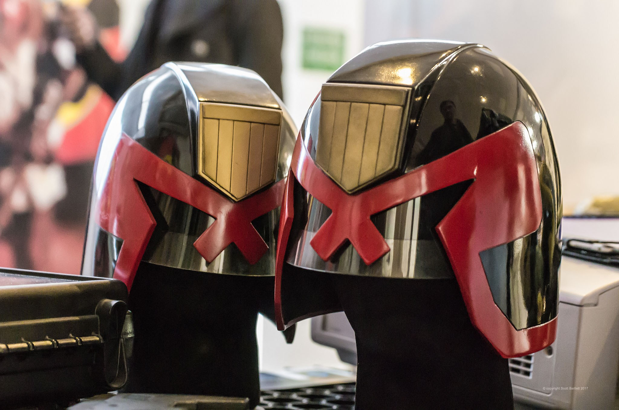 Judge Dredd Publisher 2000AD Celebrates 40 Years of Awesomeness, Pictures by Vice Press !