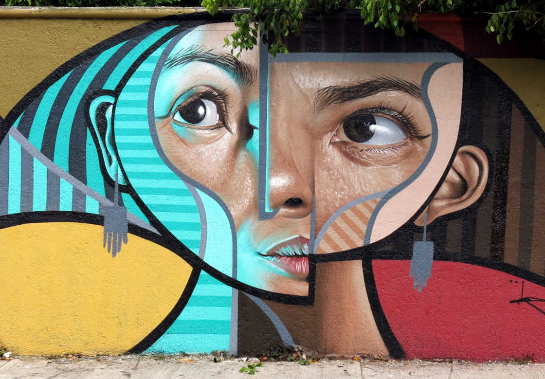 Between Cubism and Realism, the amazing street art creations by Belin (14 pics)
