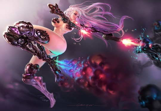 Fantasy Illustrations by ZWY-001