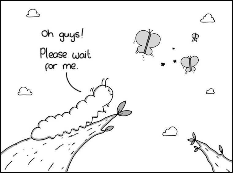Tragidoodles - Les illustrations tristes et decalees de Ben Cameron