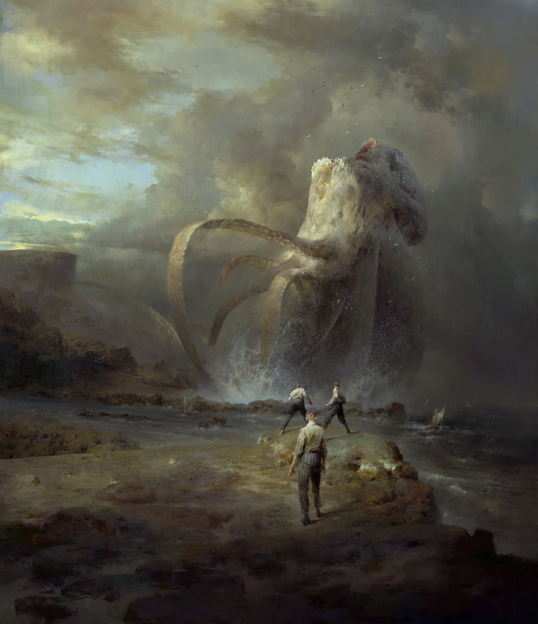 Dishonored 2 Serkonan Legends Artwork by Piotr Jablonski