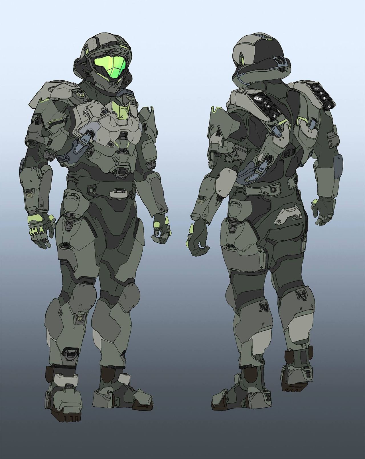 Halo 5: Guardians Concept Art by Daniel Chavez (10 pics)