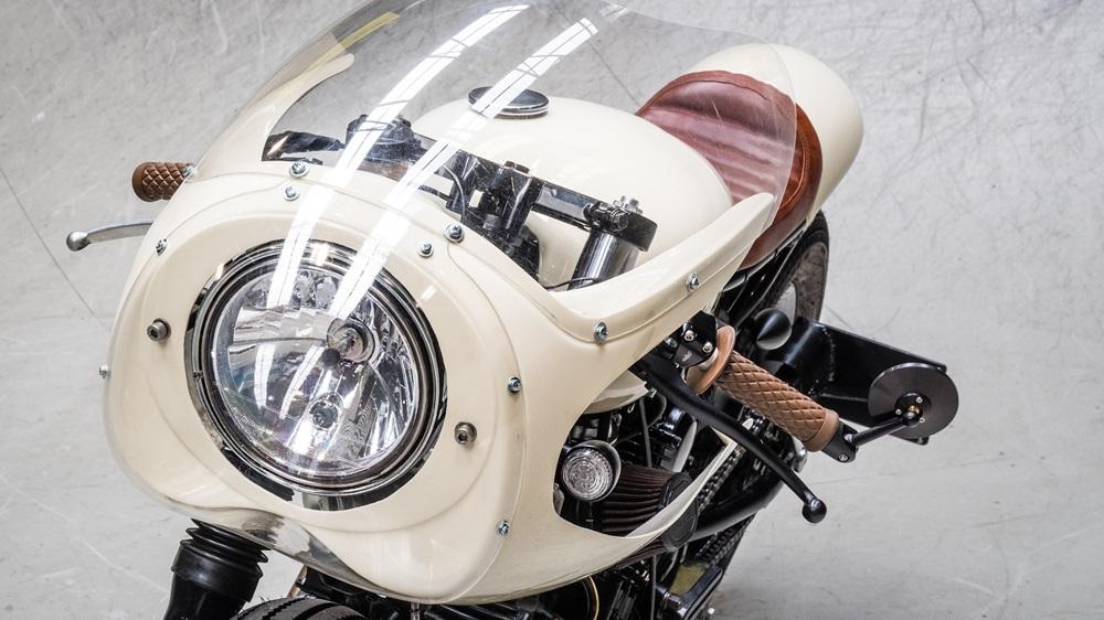 Кафе рейсер Moto Adonis Yamaha TR1