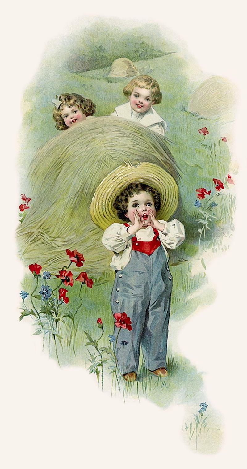 Маме, младенец винтажная открытка