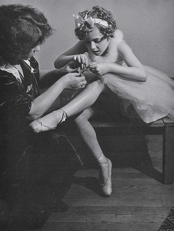 1950-е. Балерина