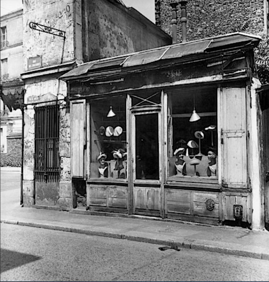 1947. Магазин в XIX-ом округе Парижа