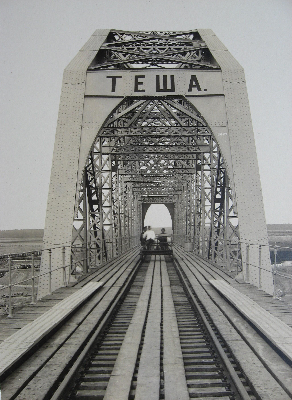 19. Железнодорожный мост чеез р.Тешу. Портал со стороны Мурома