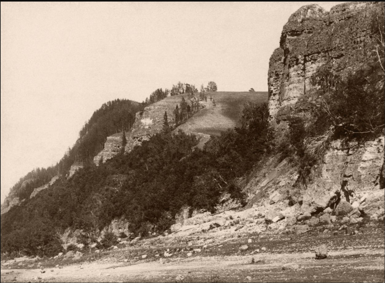 Окрестности Самары. Молодецкий курган и Девья гора, в Жигулёвских горах