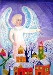 """Головяшкин Тимофей (рук. Стрикулистова Лидия Константиновна) - """"Ангел Рождества"""""""