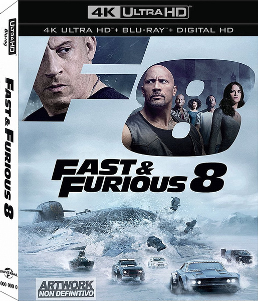 Форсаж 8 / The Fate of the Furious (2017/BDRip/HDRip)