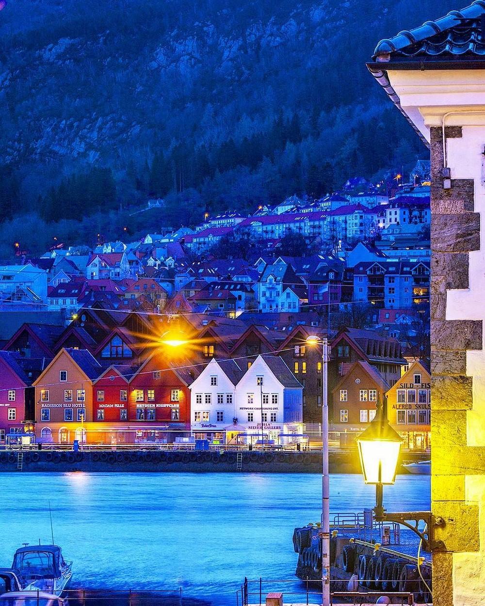 Красота норвежских городов на снимках Атле Расмуссена