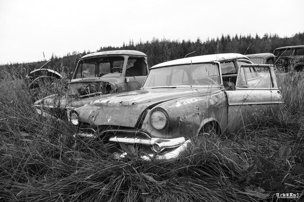 Кладбище автомобилей в Исландии