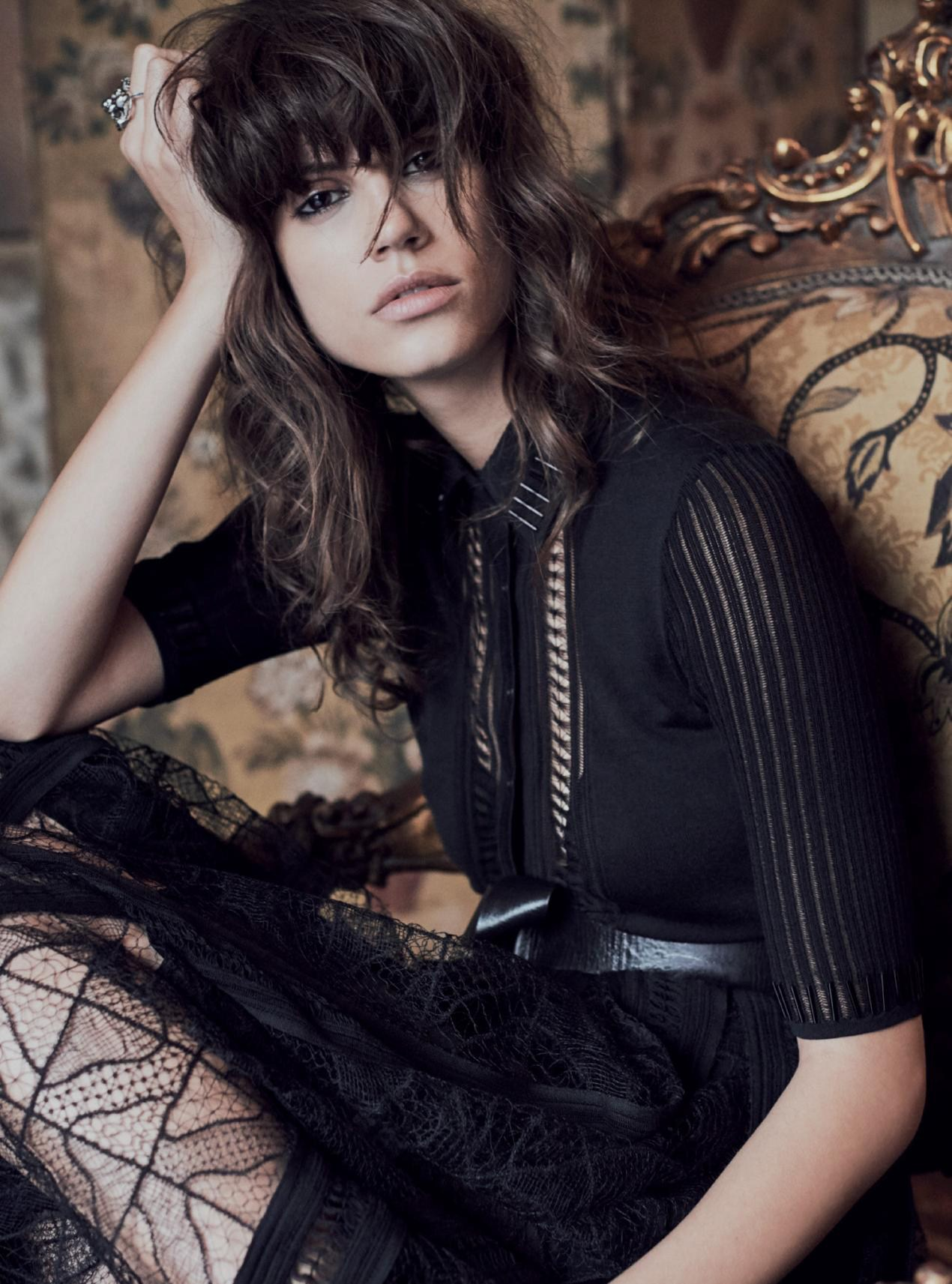 Antonina Petkovic by Regan Cameron for Harper's Bazaar UK March 2017