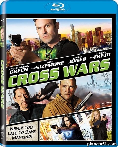 Крест. Часть вторая: Двойной обман / Cross Wars (2017/BDRip/HDRip)