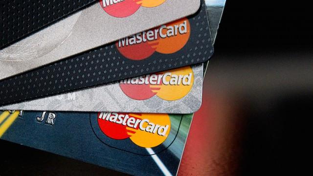 Накартах MasterCard появится датчик отпечатка пальца