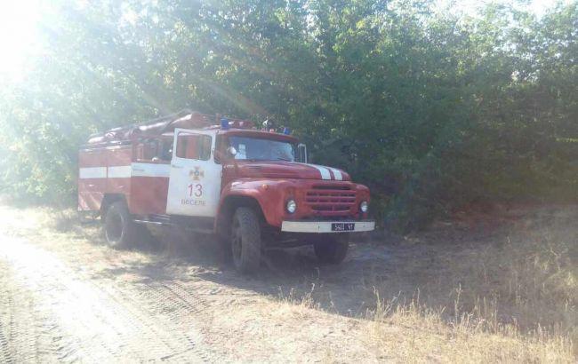 Масштабный пожар под Одессой сгорели восемь домов тушили всем селом