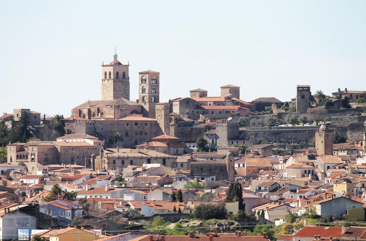 Trujillo, view from Los Berrocales
