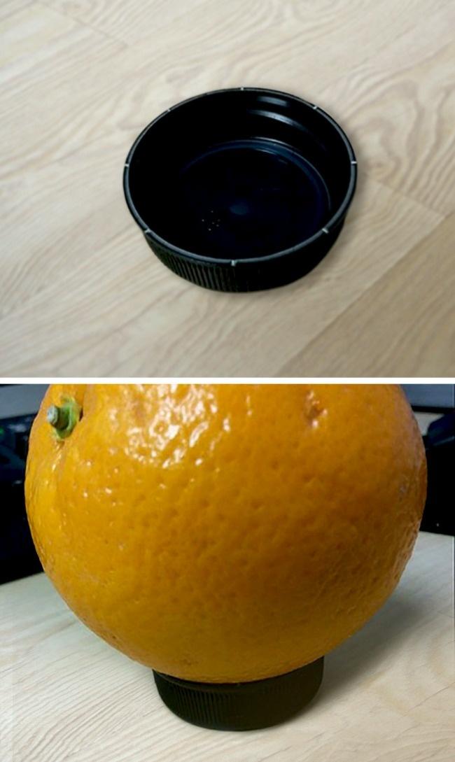 Хотите поразить гостей? Сделайте своими руками этот незаменимый держатель для апельсина.
