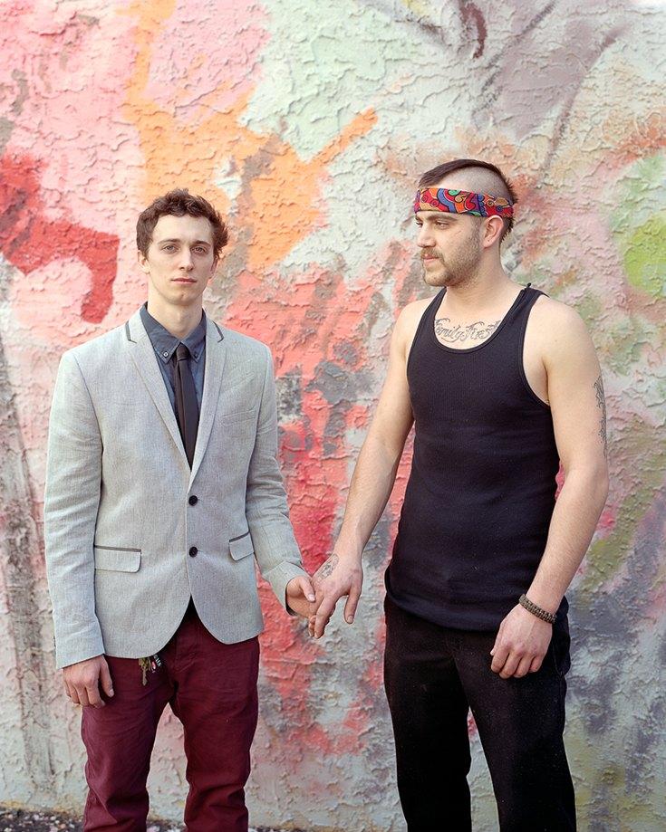 Николас и Калеб, Филадельфия, Пенсильвания, 2013.