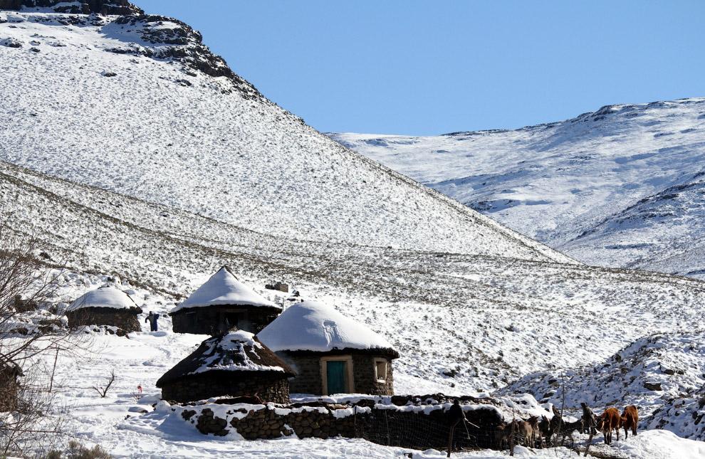 Две алмазоносные трубки Лесото — Летсенг-ла-терае и Као — входят в десятку крупнейших в мире, в