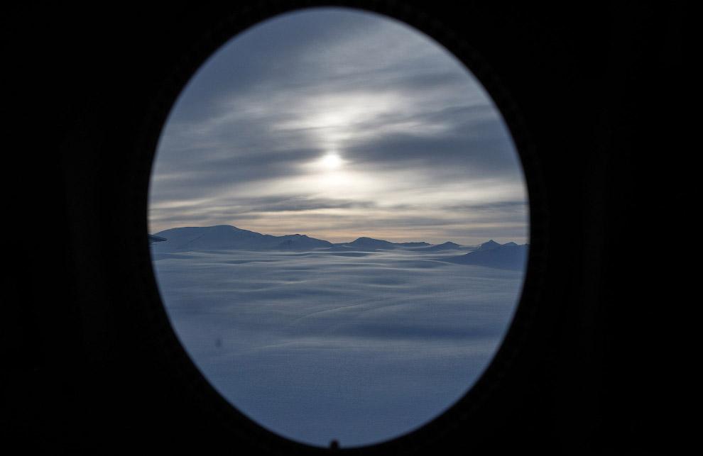 21. Остров Элсмир, Канада, 30 марта 2017. Зимы на острове очень холодные, температура может пад
