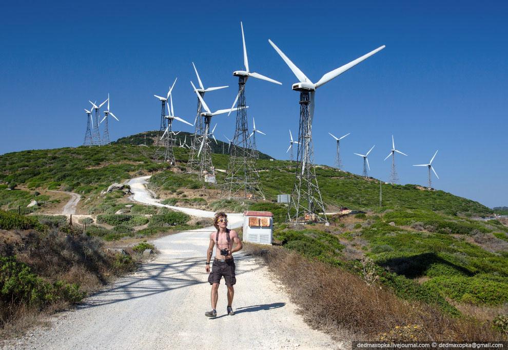 Проехав всё южное побережье Испании мы добрались до Португалии. Сначала мы заехали на Мыс Рока