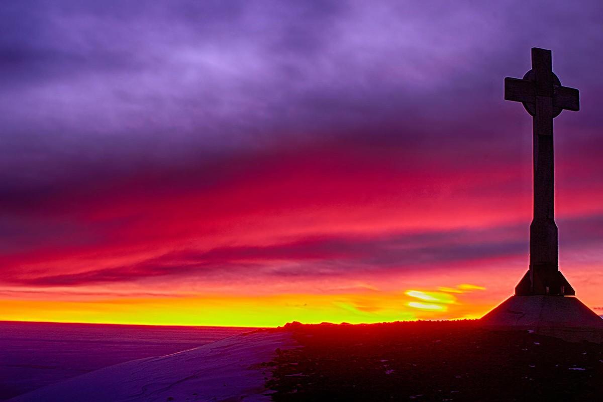 27. Антарктический закат