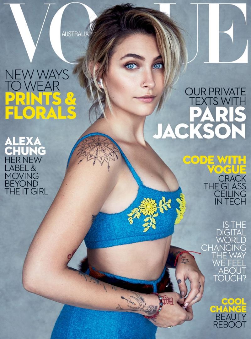 Пэрис Джексон в Vogue Australia