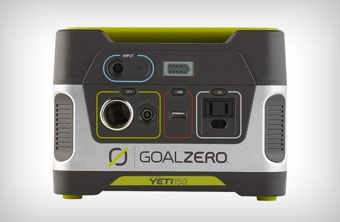 Для любого устройства. Итак, новый портативный модуль питания YETI 150 от GOAL ZERO станет настоящим