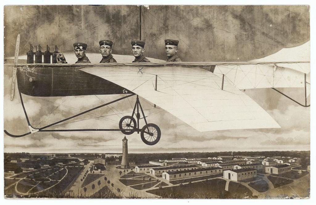 1914 год. Военный полигон, Нойхаммер-ам-Квайс.