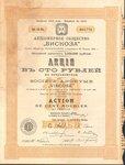 Акционерное общество Вискоза   1910 год