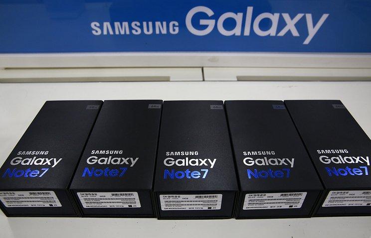 История сGalaxy Note 7 непомешала Самсунг  получить рекордную прибыль