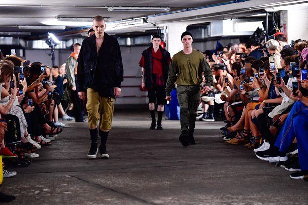 #PFW: Julius Spring Summer 2018 Menswear Collection