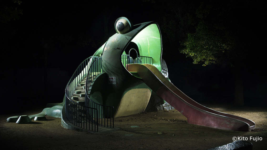 Japan Playgrounds - Documenting the strange playgrounds for kids in Japan