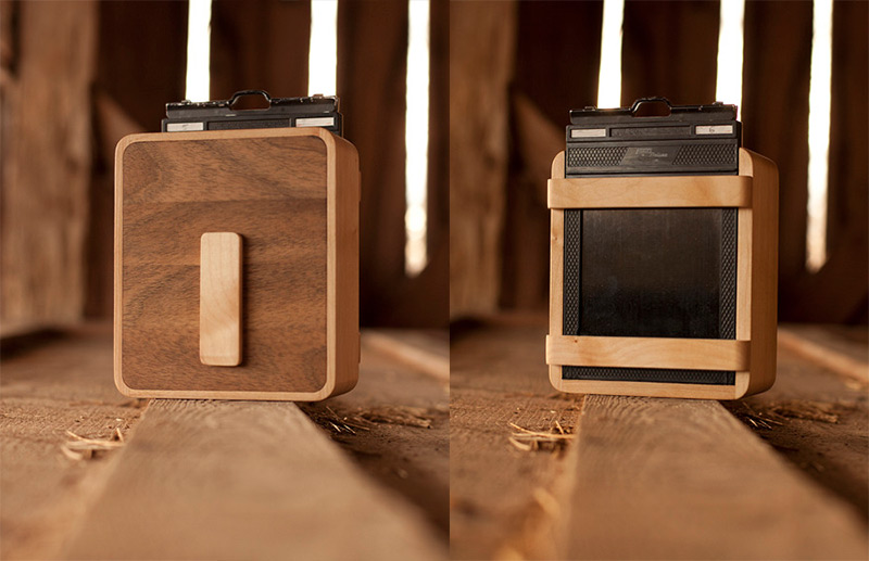 Put Down the iPhone and Pickup an ONDU Wooden Pinhole Camera