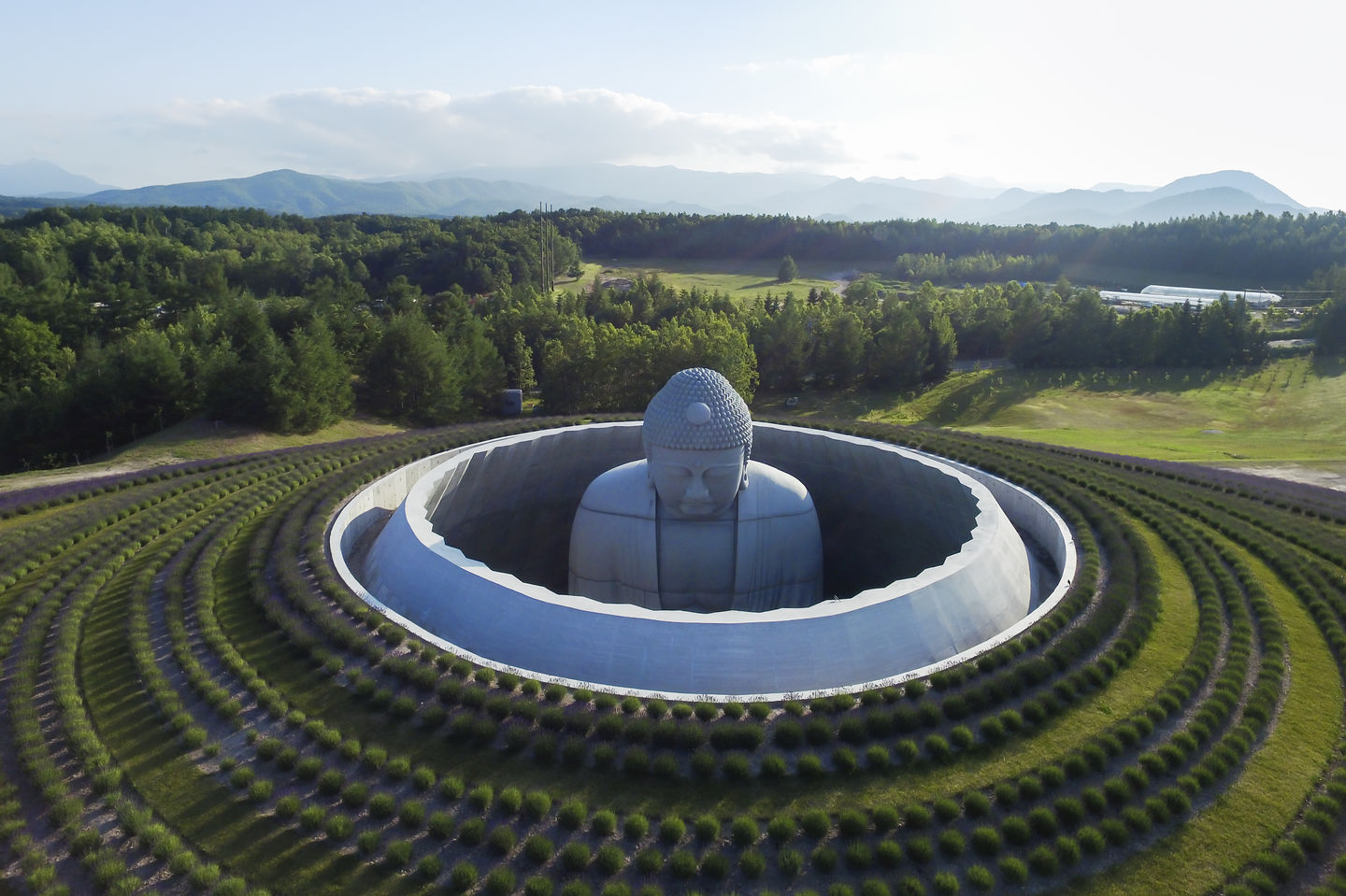 Hill of Buddha by Tadao Ando (5 pics)