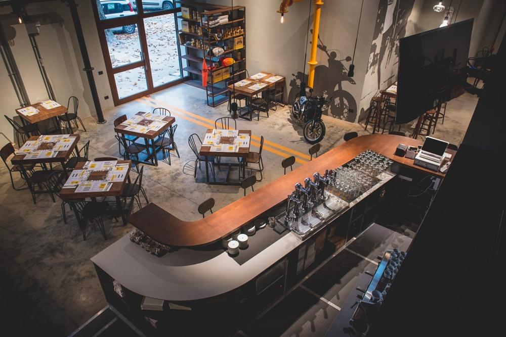 Тематический ресторан Ducati Scrambler Food