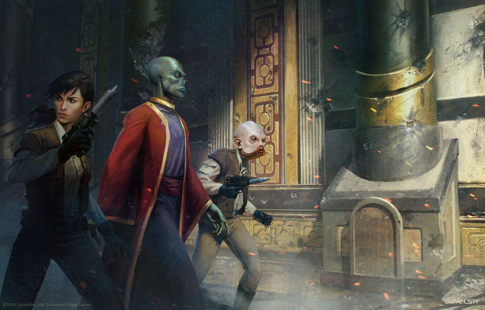 Star Wars RPG Illustrations by Cristi Balanescu