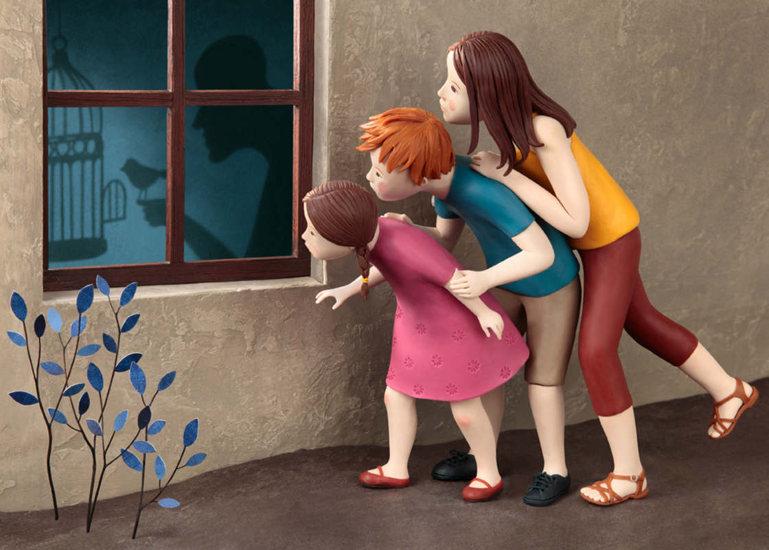 Les nouvelles illustrations sculptees d'Irma Gruenholz