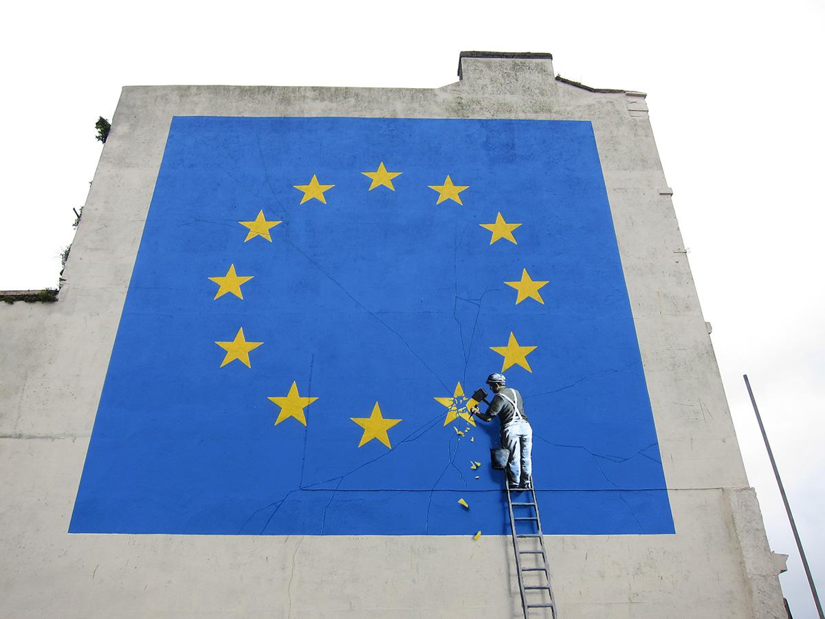 Streets: Banksy (Dover) (4 pics)