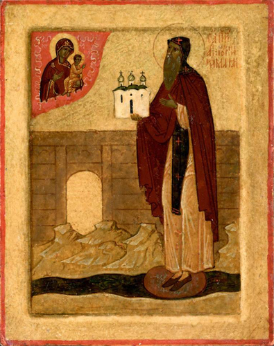 Преподобный Антоний Римлянин, Новгородский